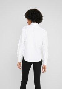 Polo Ralph Lauren - BRIA LONG SLEEVE - Button-down blouse - white - 2