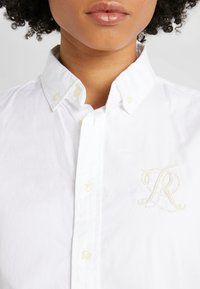 Polo Ralph Lauren - BRIA LONG SLEEVE - Button-down blouse - white - 5