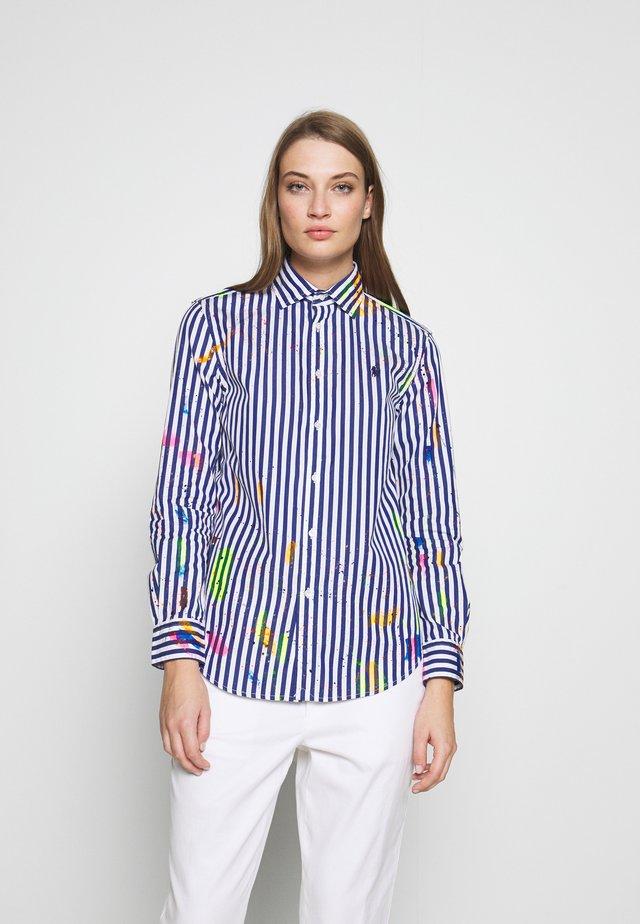Camicia - navy/white