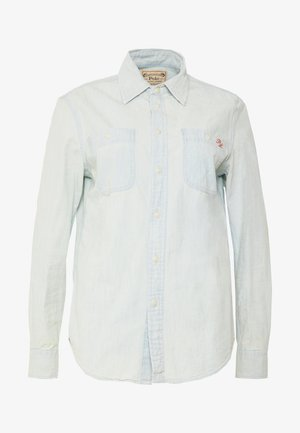 RELAXED LONG SLEEVE SHIRT - Camisa - chambray