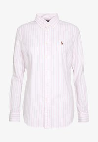 Polo Ralph Lauren - KENDAL - Camisa - white/pink - 4
