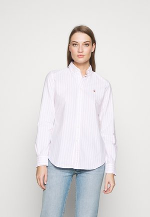 KENDAL - Button-down blouse - white/pink