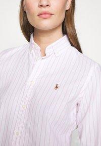 Polo Ralph Lauren - KENDAL - Camisa - white/pink - 5