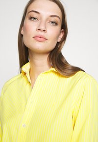Polo Ralph Lauren - GEORGIA LONG SLEEVE SHIRT - Button-down blouse - yellow/white - 5