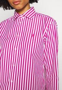 Polo Ralph Lauren - GEORGIA LONG SLEEVE SHIRT - Hemdbluse - pink/white - 5