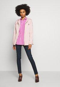 Polo Ralph Lauren - GEORGIA LONG SLEEVE SHIRT - Košile - pink/white - 1