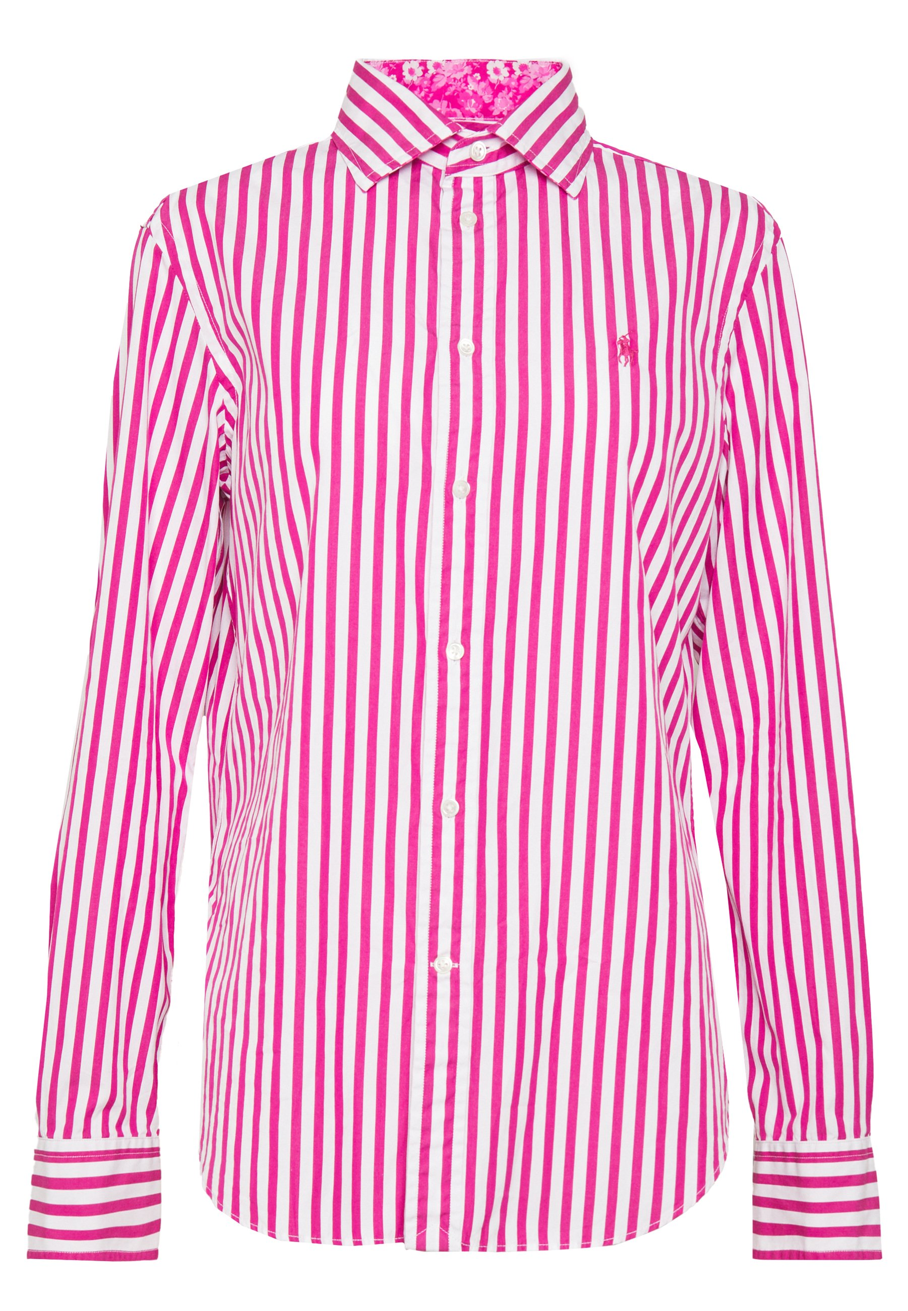 Polo Ralph Lauren GEORGIA LONG SLEEVE SHIRT - Button-down blouse - pink/white
