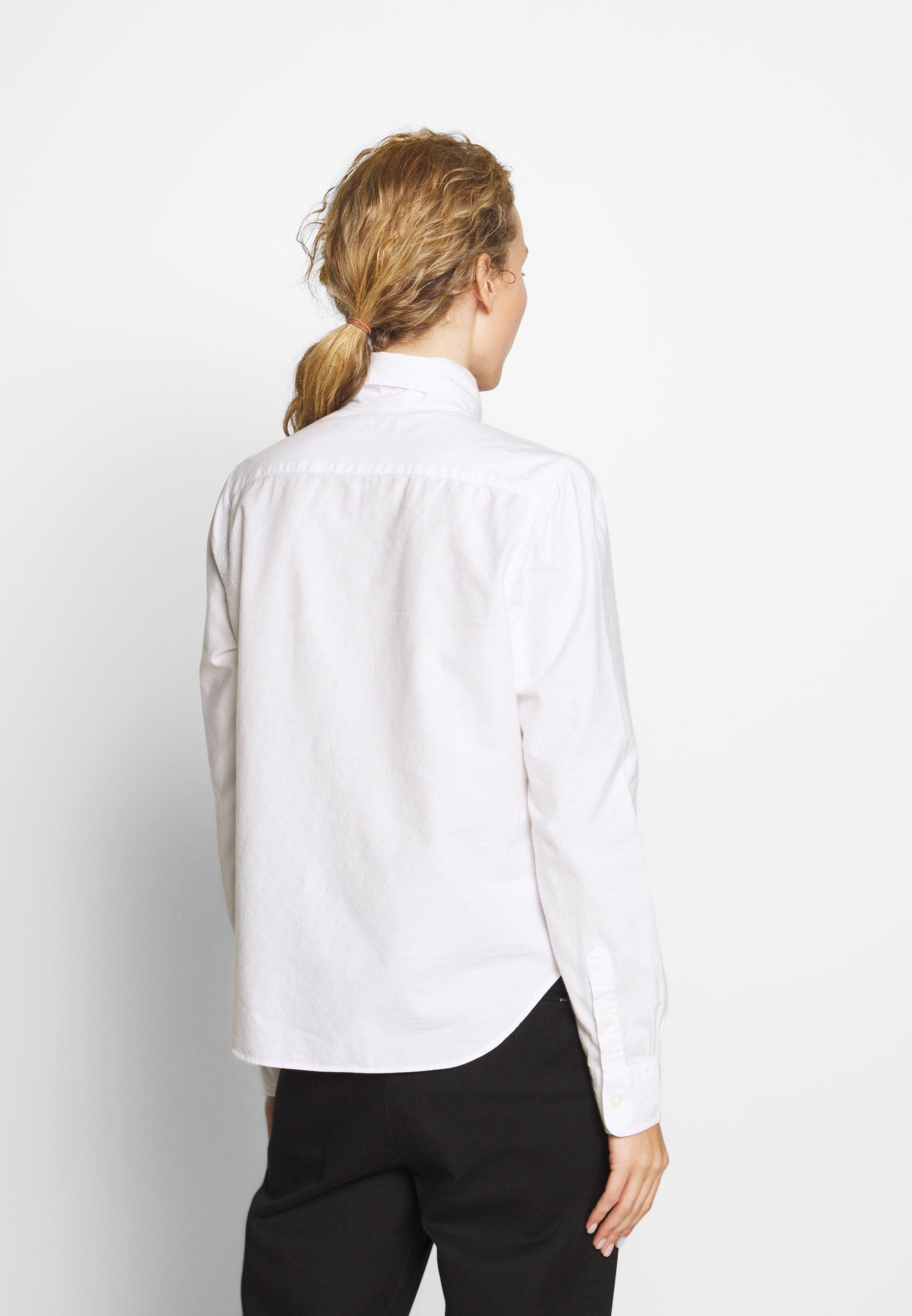 Polo Ralph Lauren LONG SLEEVE SHIRT - Skjorte - white