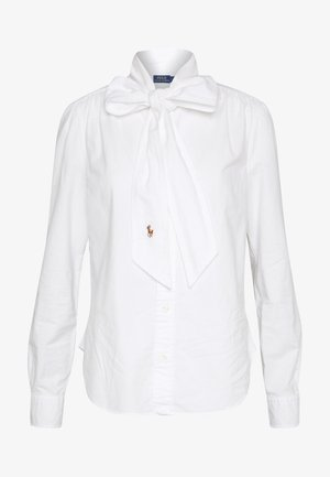 LONG SLEEVE SHIRT - Button-down blouse - white