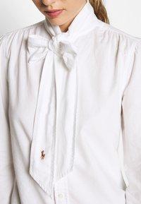 Polo Ralph Lauren - LONG SLEEVE SHIRT - Camicia - white - 5