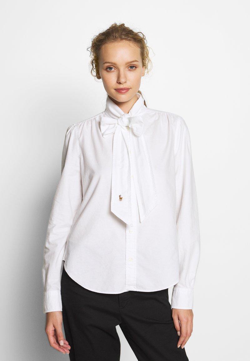Polo Ralph Lauren - LONG SLEEVE SHIRT - Camicia - white