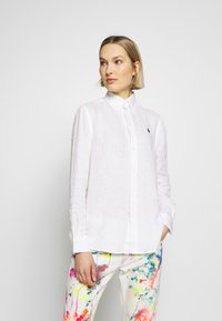 Polo Ralph Lauren - RELAXED LONG SLEEVE - Camicia - white - 0