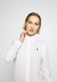 Polo Ralph Lauren - RELAXED LONG SLEEVE - Košile - white - 3