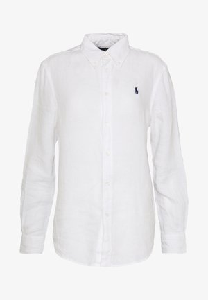 RELAXED LONG SLEEVE - Camicia - white