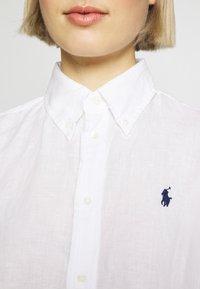 Polo Ralph Lauren - RELAXED LONG SLEEVE - Košile - white - 5