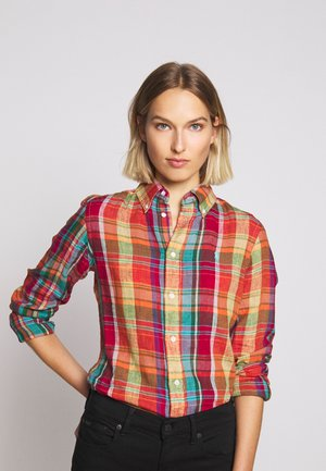 GEORGIA CLASSIC LONG SLEEVE - Camicia - orange/yellow