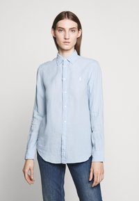 Polo Ralph Lauren - RELAXED LONG SLEEVE - Camisa - powder blue - 0