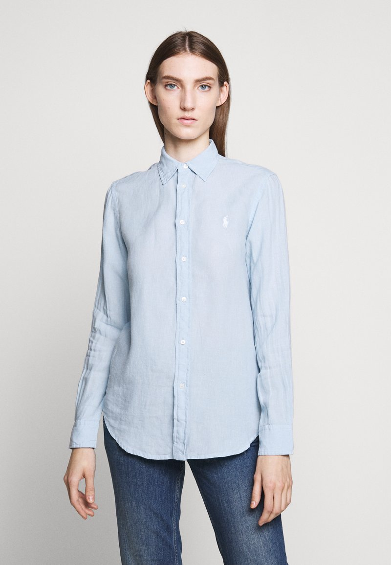 Polo Ralph Lauren - RELAXED LONG SLEEVE - Camisa - powder blue