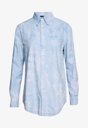 RELAXED LONG SLEEVE - Camicia - blue lagoon