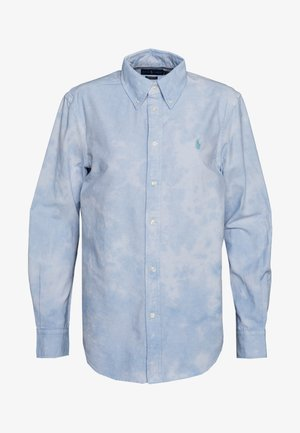 RELAXED LONG SLEEVE - Button-down blouse - blue lagoon