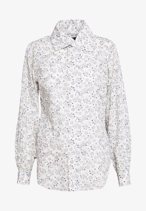 BYCE LONG SLEEVE - Camicia - white/blue