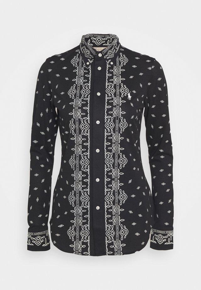 HEIDI LONG SLEEVE - Camicia - new classic black