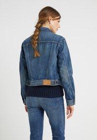 Polo Ralph Lauren - EVE WASH - Giacca di jeans - dark indigo - 2