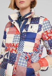 Polo Ralph Lauren - PATCHWORK - Down jacket - multi - 5