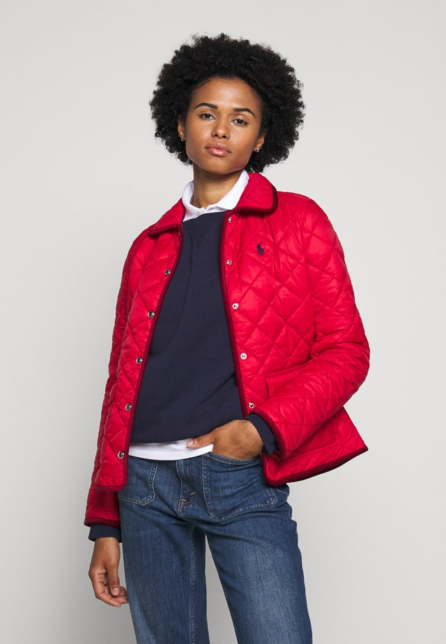 BARN JACKET - Jas - injection red