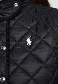 Polo Ralph Lauren - BARN JACKET - Lehká bunda - black - 8