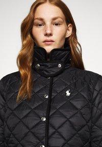 Polo Ralph Lauren - BARN JACKET - Lehká bunda - black - 5