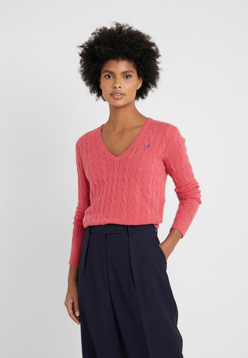 Polo Ralph Lauren - KIMBERLY  - Strickpullover - geranium heather