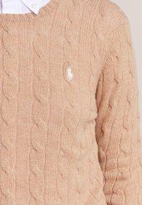 Polo Ralph Lauren - JULIANNA - Jersey de punto - camel melange - 3
