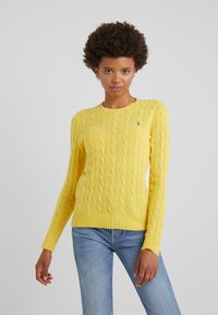 Polo Ralph Lauren - JULIANNA - Maglione - racing yellow - 0