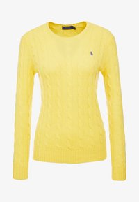 Polo Ralph Lauren - JULIANNA - Maglione - racing yellow - 3