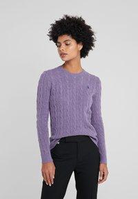 Polo Ralph Lauren - JULIANNA - Jersey de punto - purple smoke heat - 0