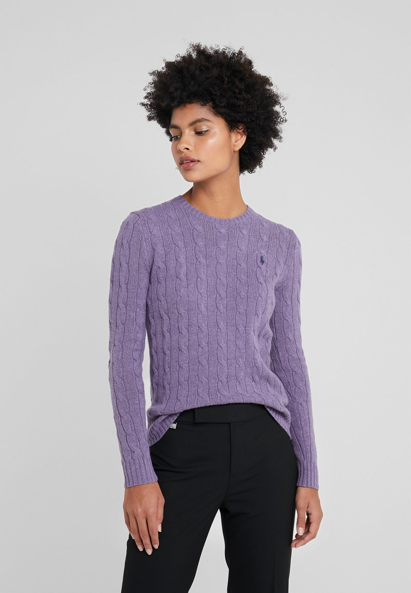 Polo Ralph Lauren - JULIANNA - Jersey de punto - purple smoke heat
