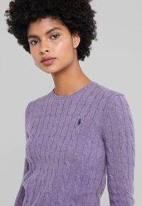 Polo Ralph Lauren - JULIANNA - Jersey de punto - purple smoke heat - 4