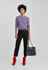 Polo Ralph Lauren - JULIANNA - Jersey de punto - purple smoke heat - 1