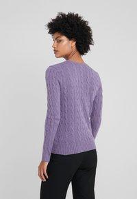 Polo Ralph Lauren - JULIANNA - Jersey de punto - purple smoke heat - 2
