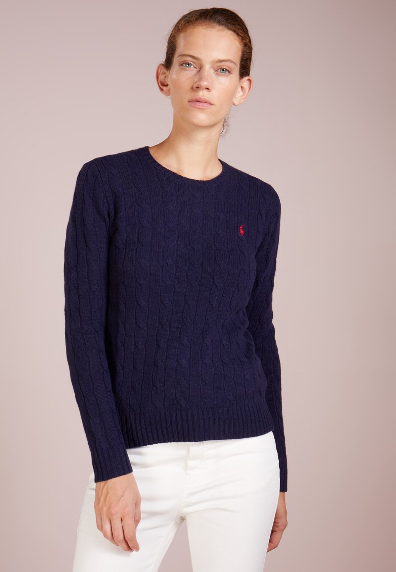 Polo Ralph Lauren - JULIANNA - Strickpullover - hunter navy
