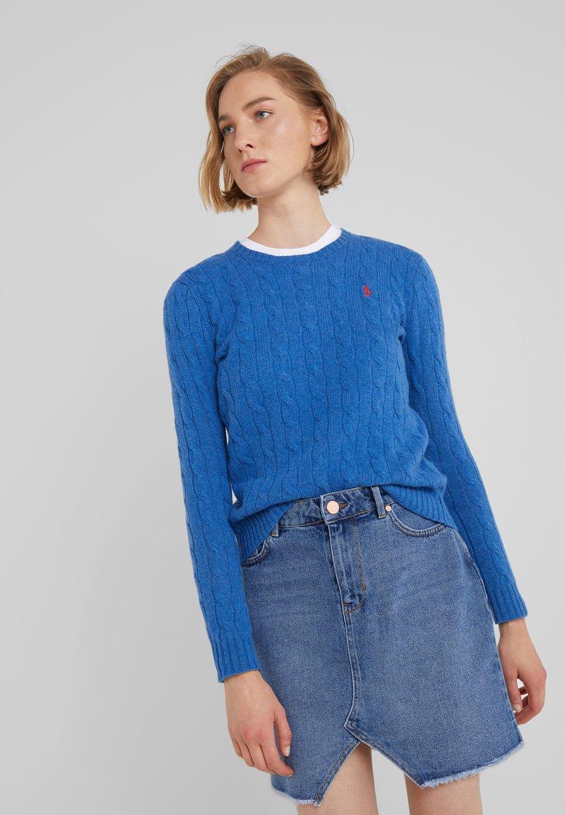 Polo Ralph Lauren - JULIANNA - Jersey de punto - gentian blue heat