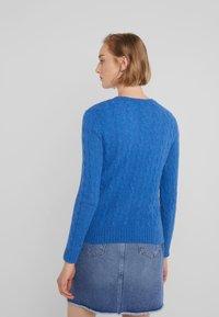 Polo Ralph Lauren - JULIANNA - Jersey de punto - gentian blue heat - 2