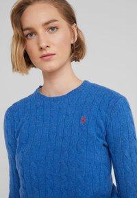 Polo Ralph Lauren - JULIANNA - Jersey de punto - gentian blue heat - 4