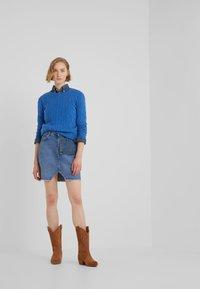 Polo Ralph Lauren - JULIANNA - Jersey de punto - gentian blue heat - 1