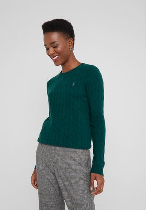 JULIANNA - Jersey de punto - forest green heat