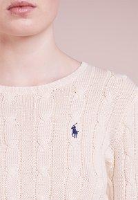Polo Ralph Lauren - JULIANNA CLASSIC LONG SLEEVE - Maglione - cream - 3