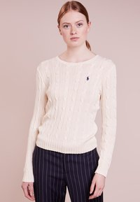 Polo Ralph Lauren - JULIANNA CLASSIC LONG SLEEVE - Maglione - cream - 0