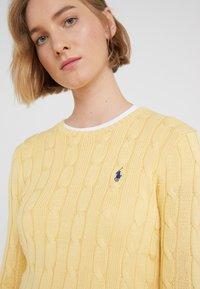 Polo Ralph Lauren - JULIANNA CLASSIC LONG SLEEVE - Maglione - buttercream - 4