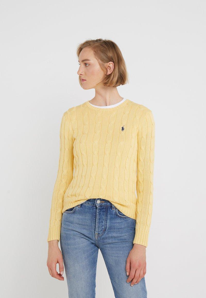 Polo Ralph Lauren - JULIANNA CLASSIC LONG SLEEVE - Maglione - buttercream